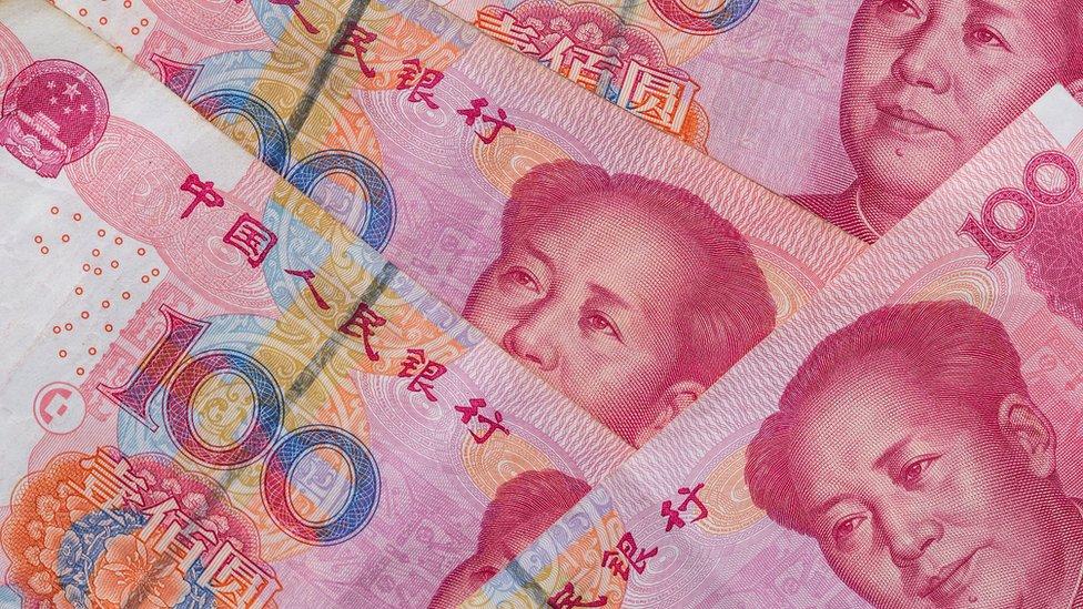 Billetes chinos