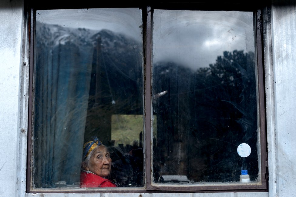 A Mapuche indigenous woman at a house where traditional Mapuche dishes - which use pinons, the fruit of the Araucaria tree - are prepared for tourists in Quinquen, Temuco, Chile, 23 October 2018