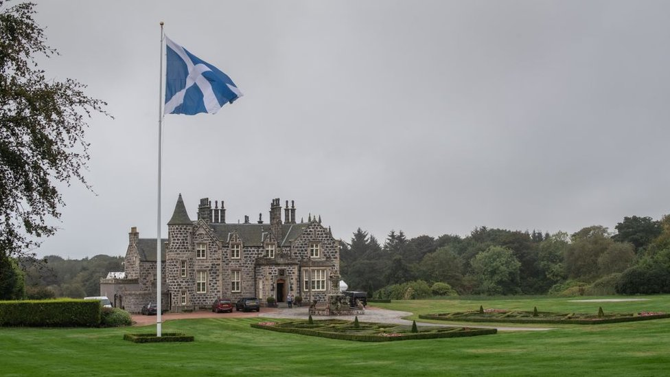 Trump's gold course in Scotland