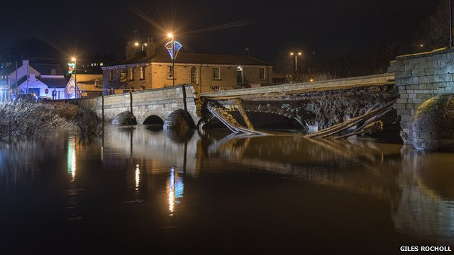 Bridge collapse - courtesy Giles Rocholl