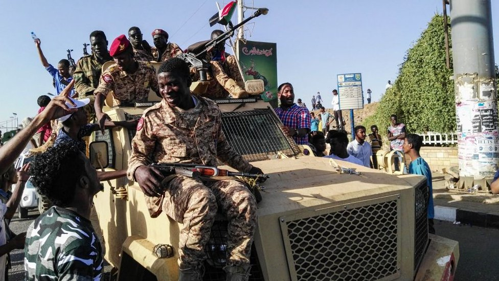 Sudan ordusu birlikleri