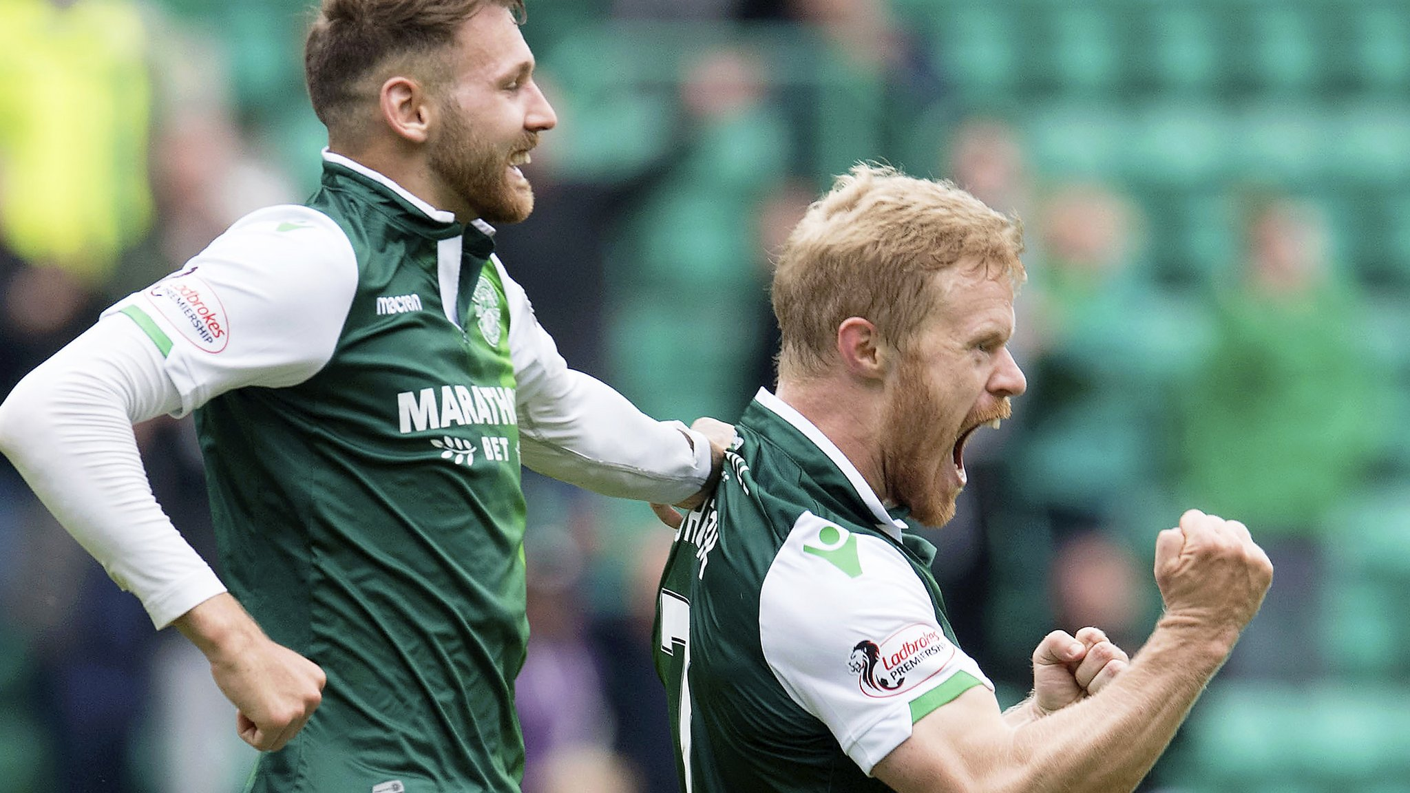 Horgan's late goal against County sets up Aberdeen tie for Hibs