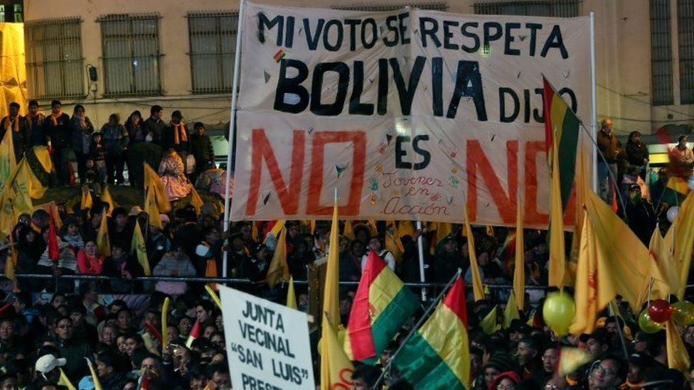Bolivia Morales Scrapping Of Term Limits Is Blow To Democracy Bbc News