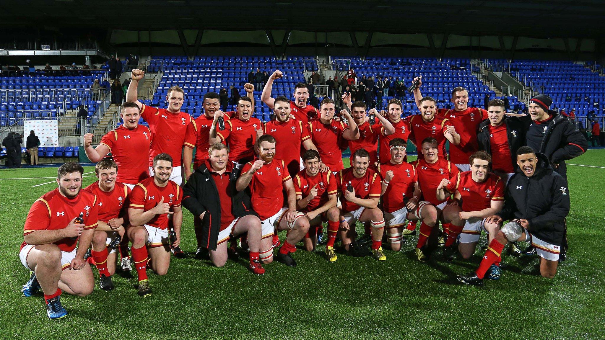 Highlights: Ireland U20 24-35 Wales U20