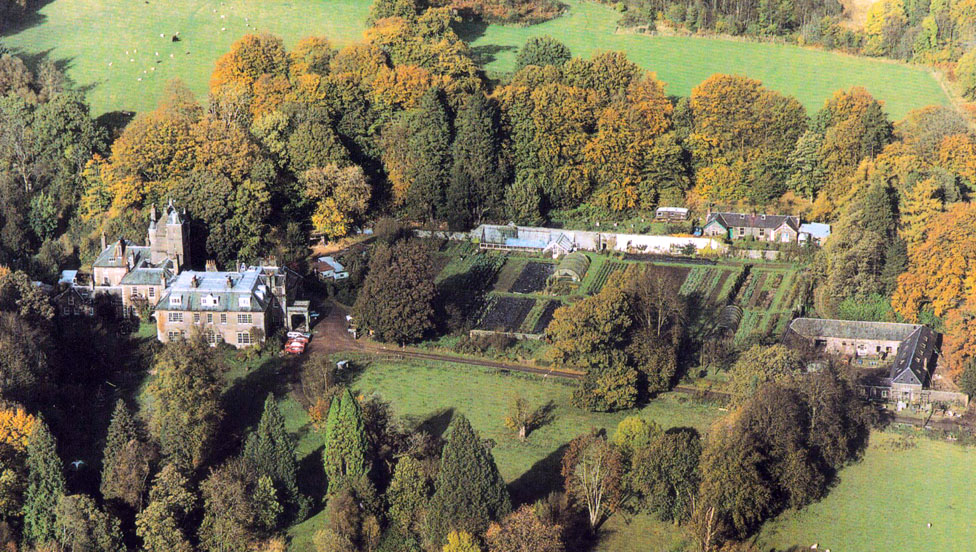 Laurieston Hall - house and grounds