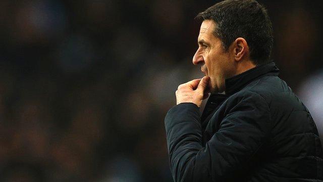 Aston Villa 0-2 Arsenal: Remi Garde - Villans 'too fragile'
