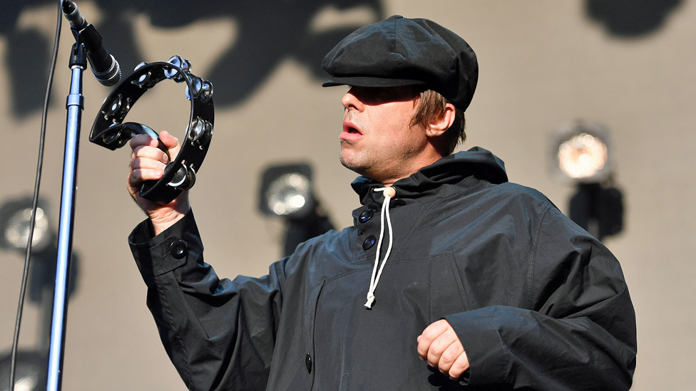Liam Gallagher at Peaky Blinders Festival
