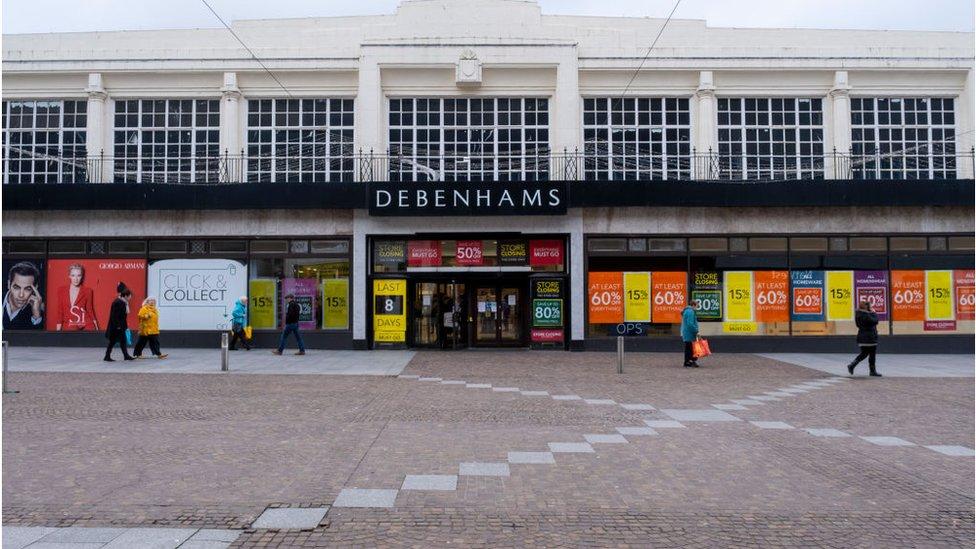 Debenhams, Folkestone