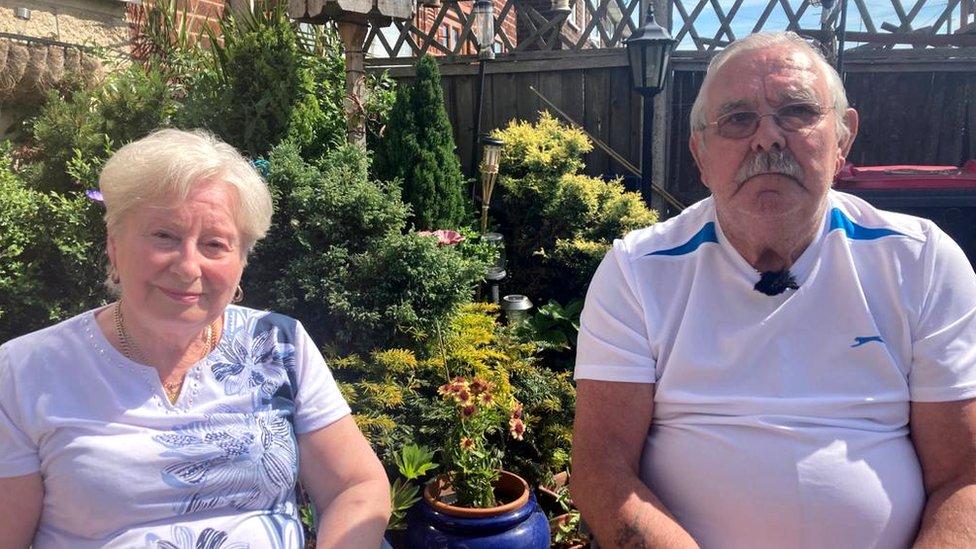 Linda and Tony Leech