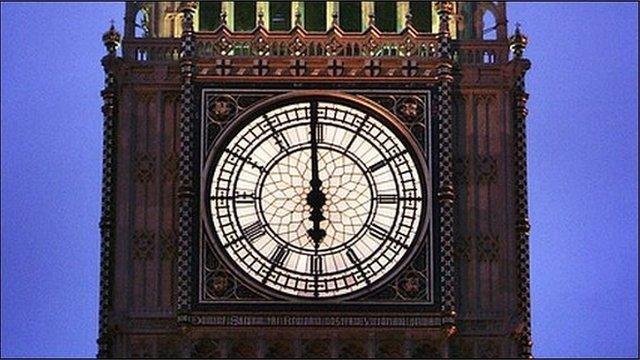 Clock face - Westminster