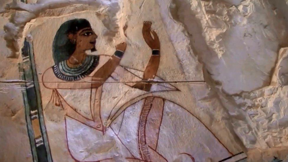 """الكشف عن بعض تفاصيل عبادة إله الشمس """"آمون"""""""