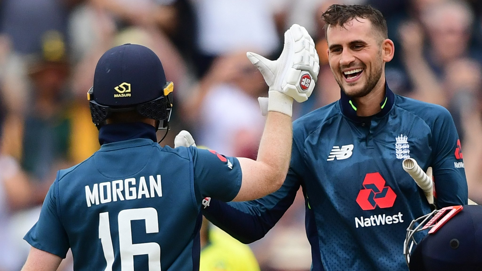 England make record 481 to thrash Australia by 242 runs