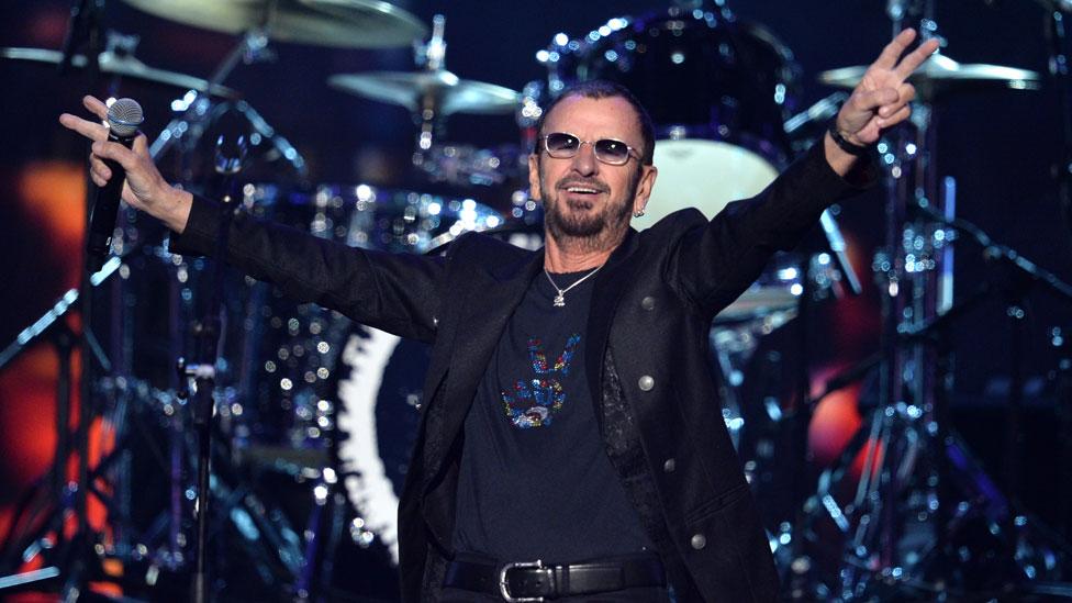 Ringo Starr in 2014