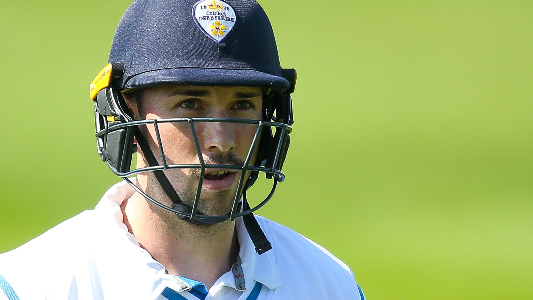 County Championship: Derbyshire boosted by Godleman century at Sussex