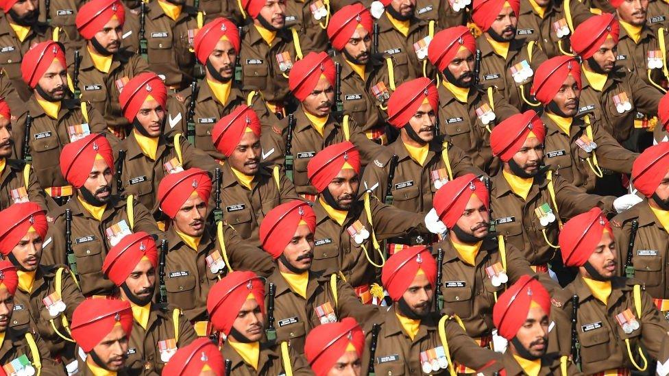 عرض عسكري في الهند