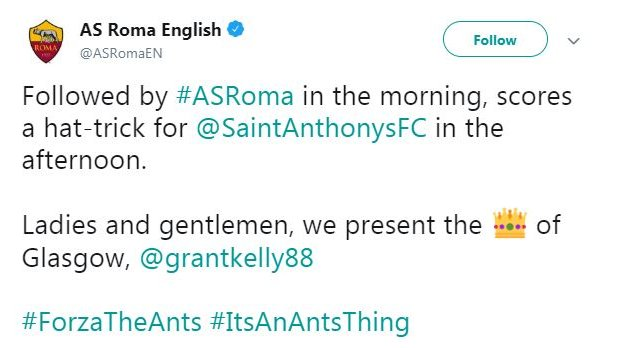 'Forza the Ants' - Giants Roma inspire junior side to victory