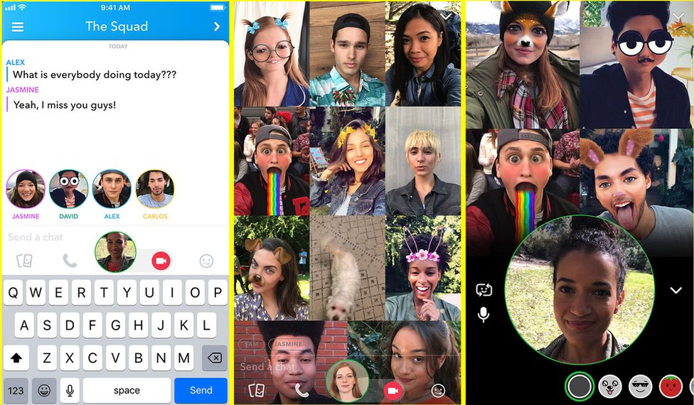 Snapchat new video feature