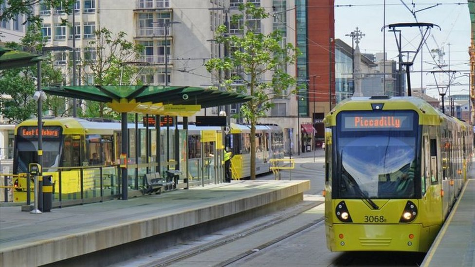 Manchester trams