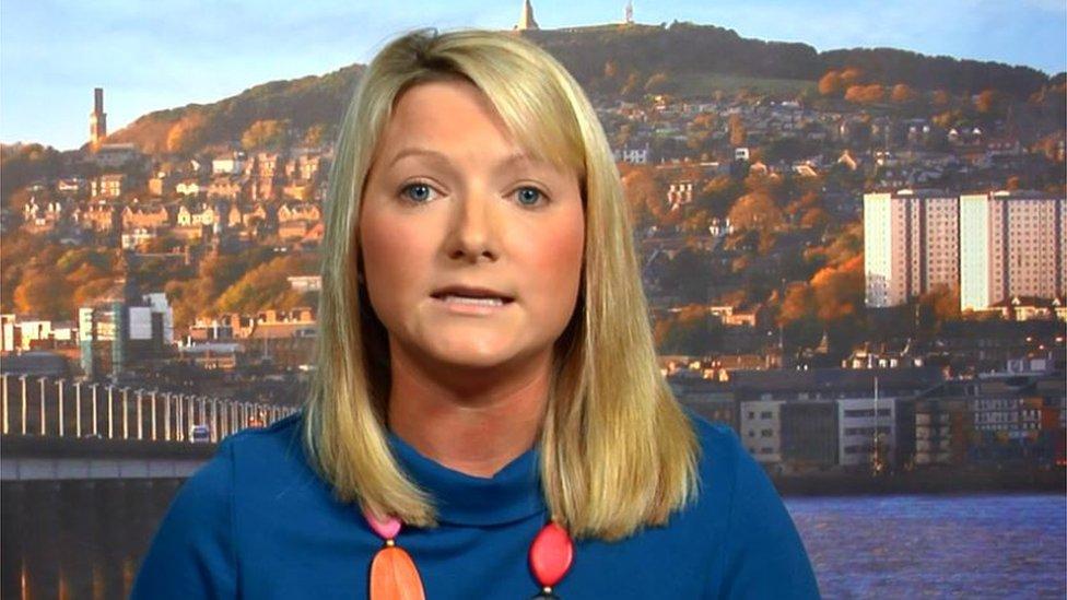 Conservative MP Kirstene Hair