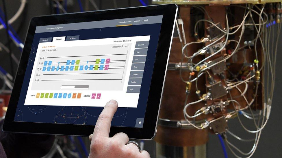 IBM's processor app in use