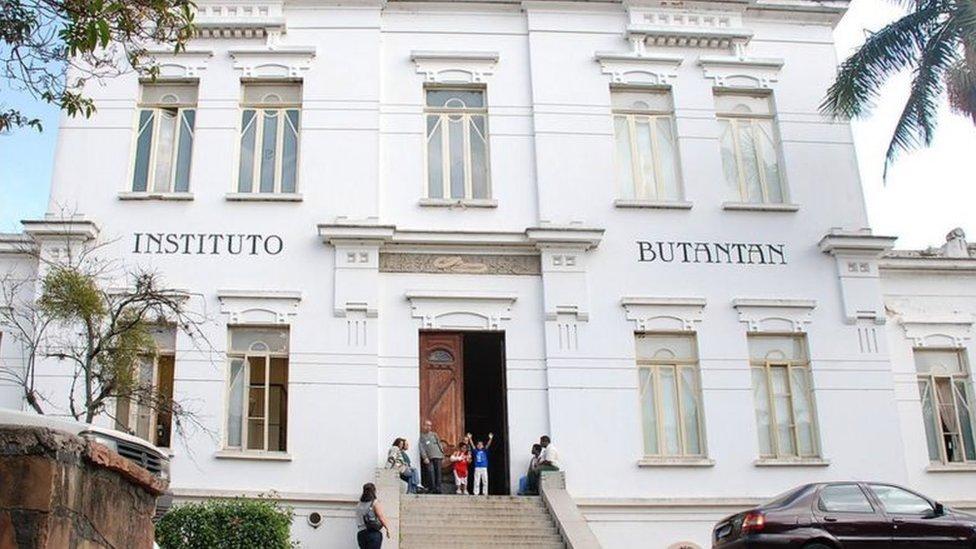 Fachada do Instituto Butantan