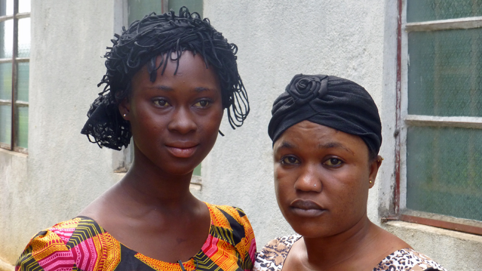 Jamilatu and Fatmata