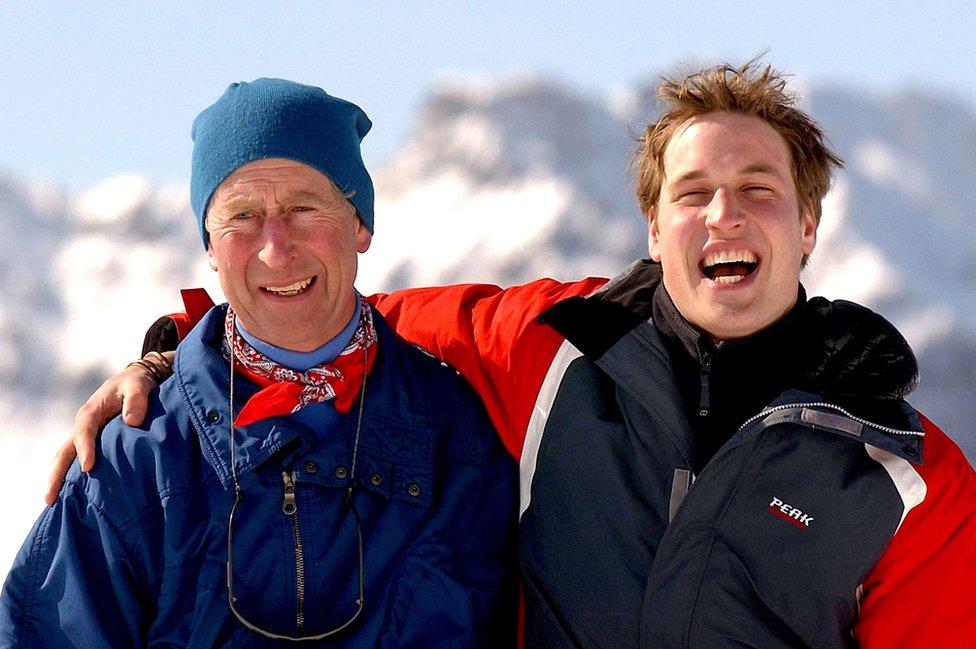Princ Čarls i stariji sin Vilijam