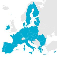 Mapa UE.