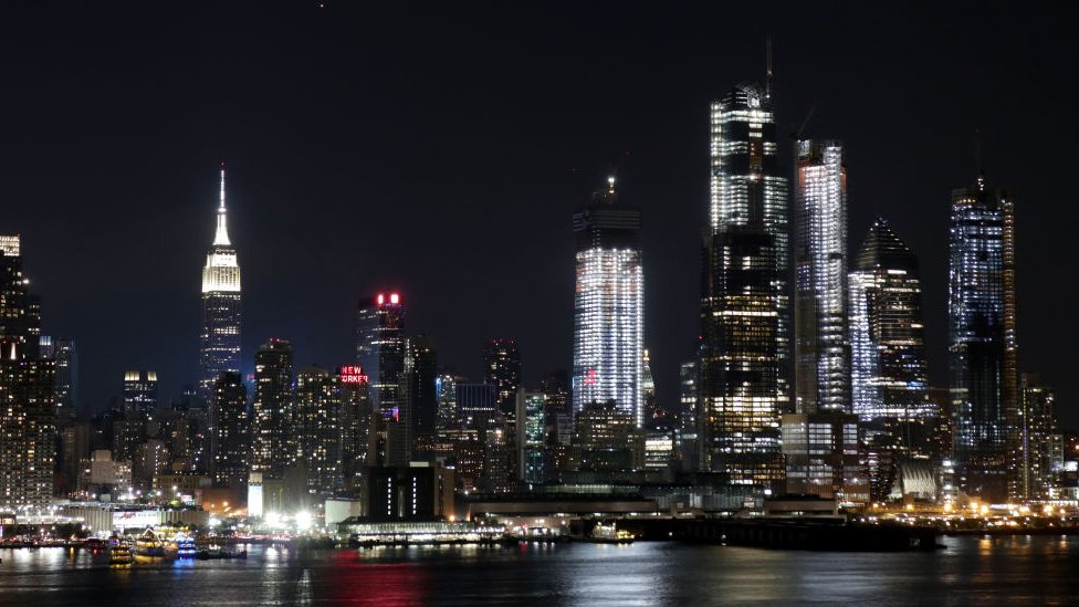 New York'tak gökdelenler