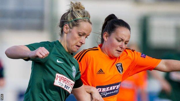 Scottish Women's Premier League Cup: Hibernian face Glasgow City in final after convincing last-four victories