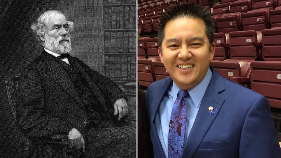 Espn Reassigns Commentator Robert Lee Over Name Coincidence Bbc News