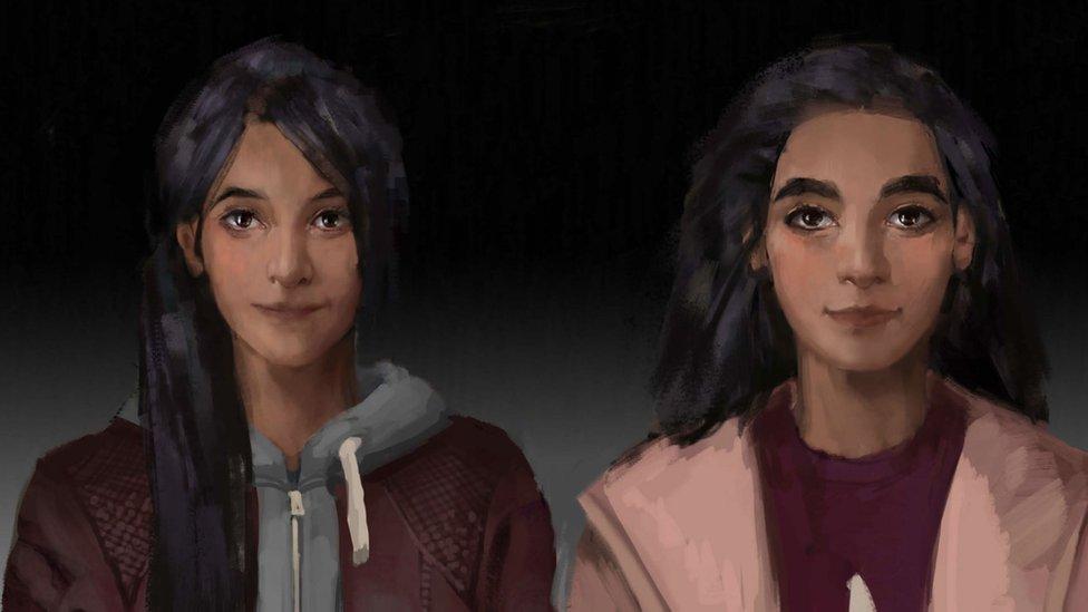Lauren y Anna.