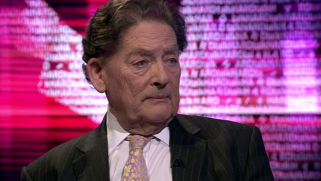 Lord Lawson, president of the Conservatives for Britain