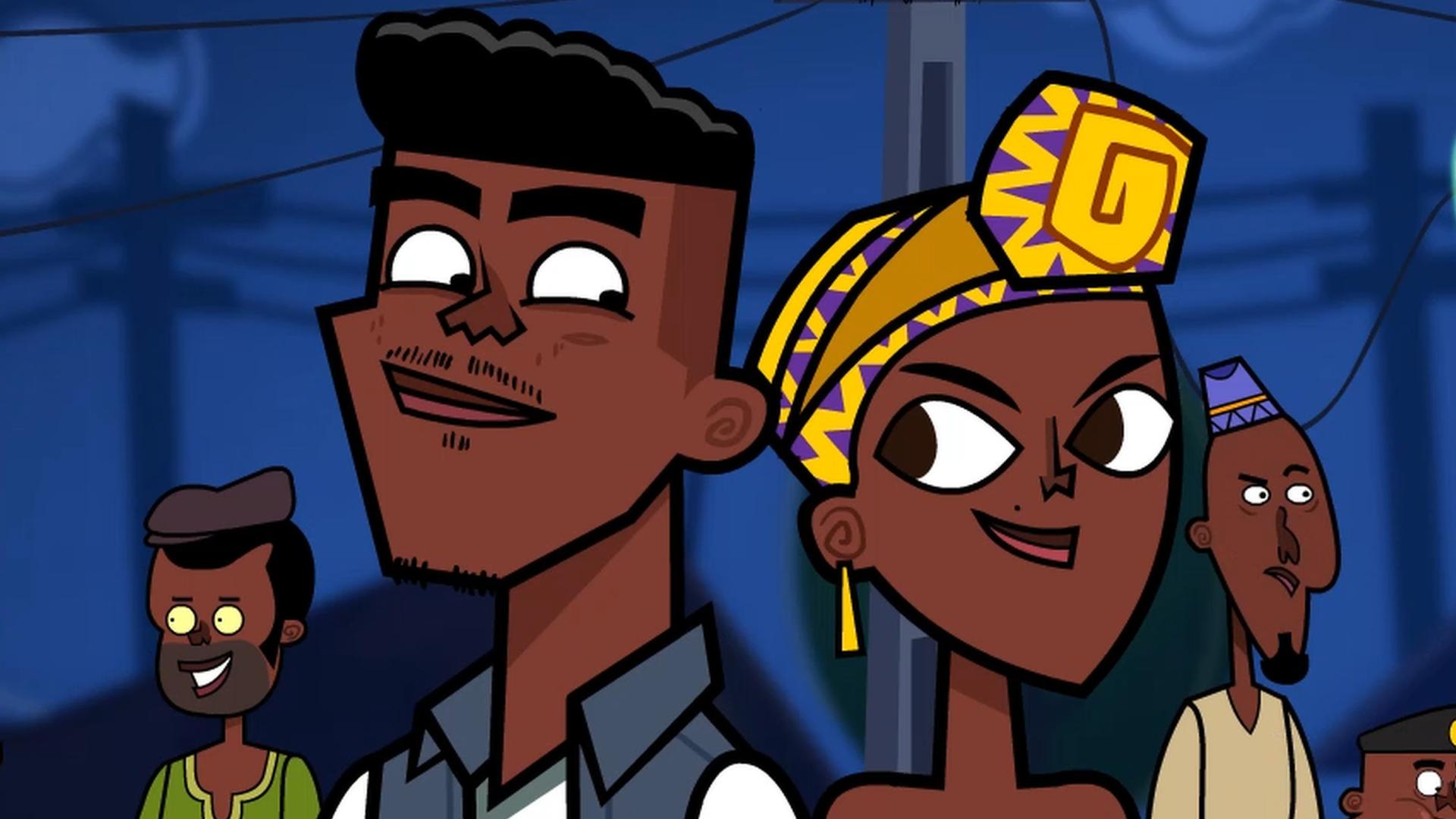 A cartoon by Nigerian animator Ridwan Moshood