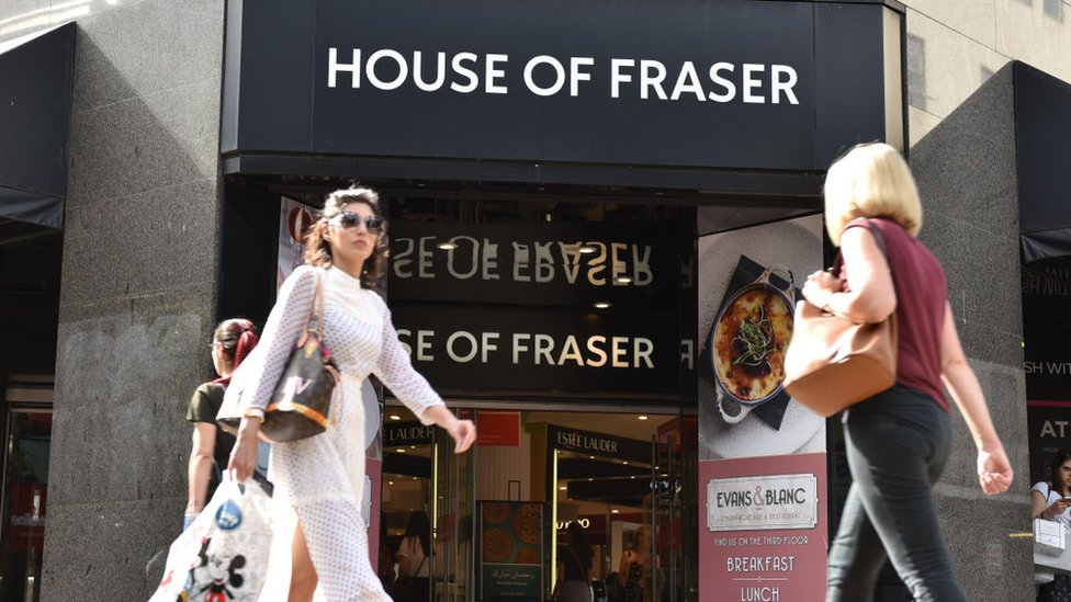 House of Fraser revival 'challenging'