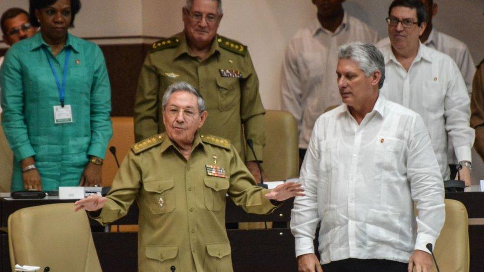 Raúl Castro aseguró que dejaría la presidencia al culminar su segundo mandato.