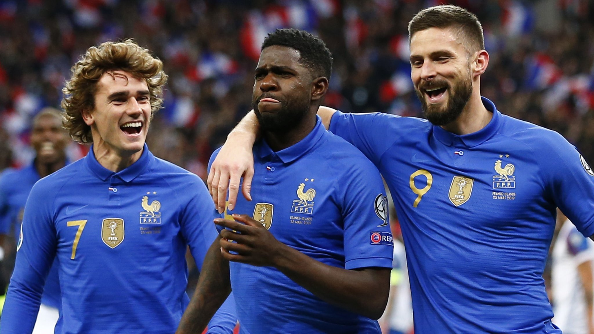 France 4-0 Iceland: Olivier Giroud scores in routine win for the world champions