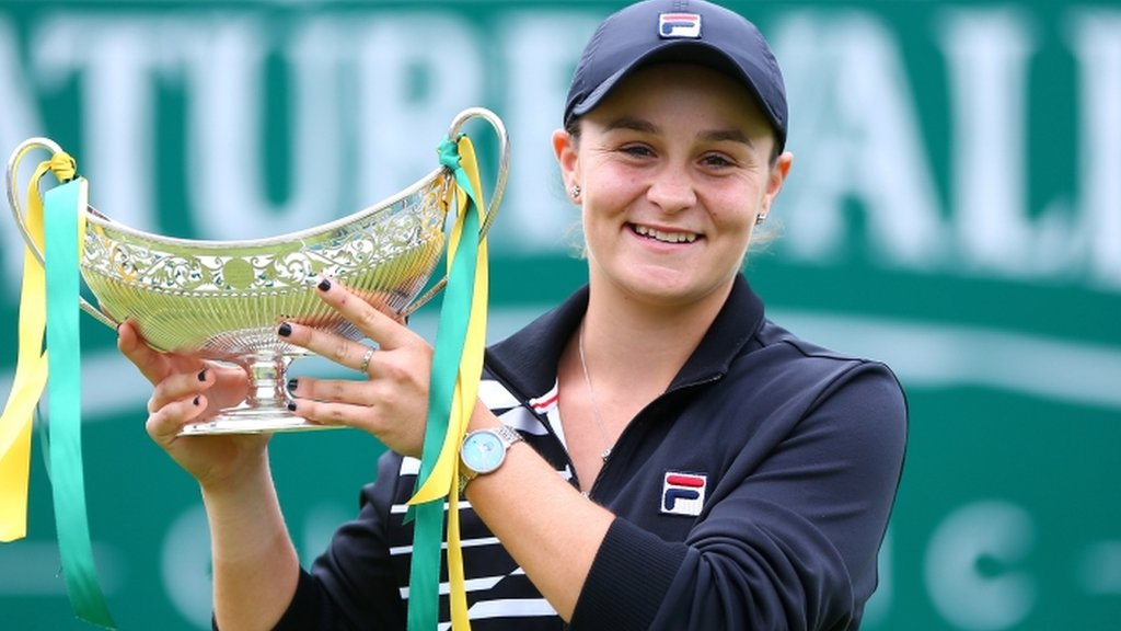 Barty wins in Birmingham and will become new world number one