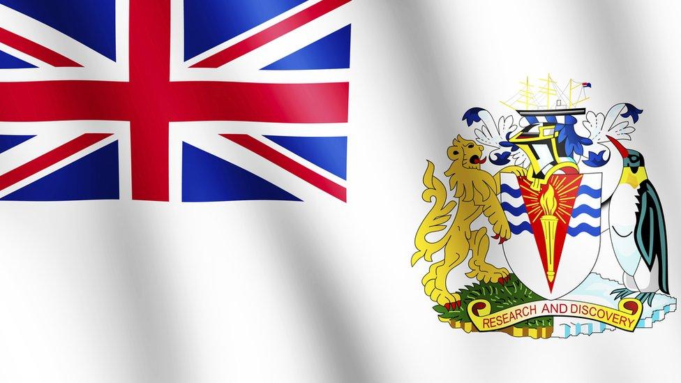 British Antarctic flag