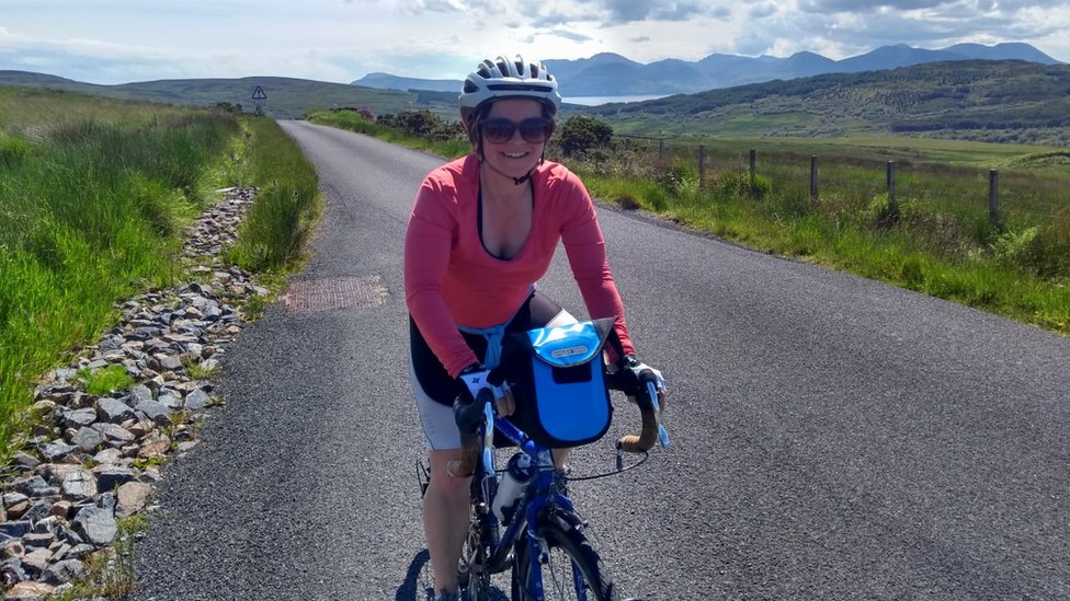 Lucy says she cycled every day before catching Covid now a walk in the park leaves her exhausted