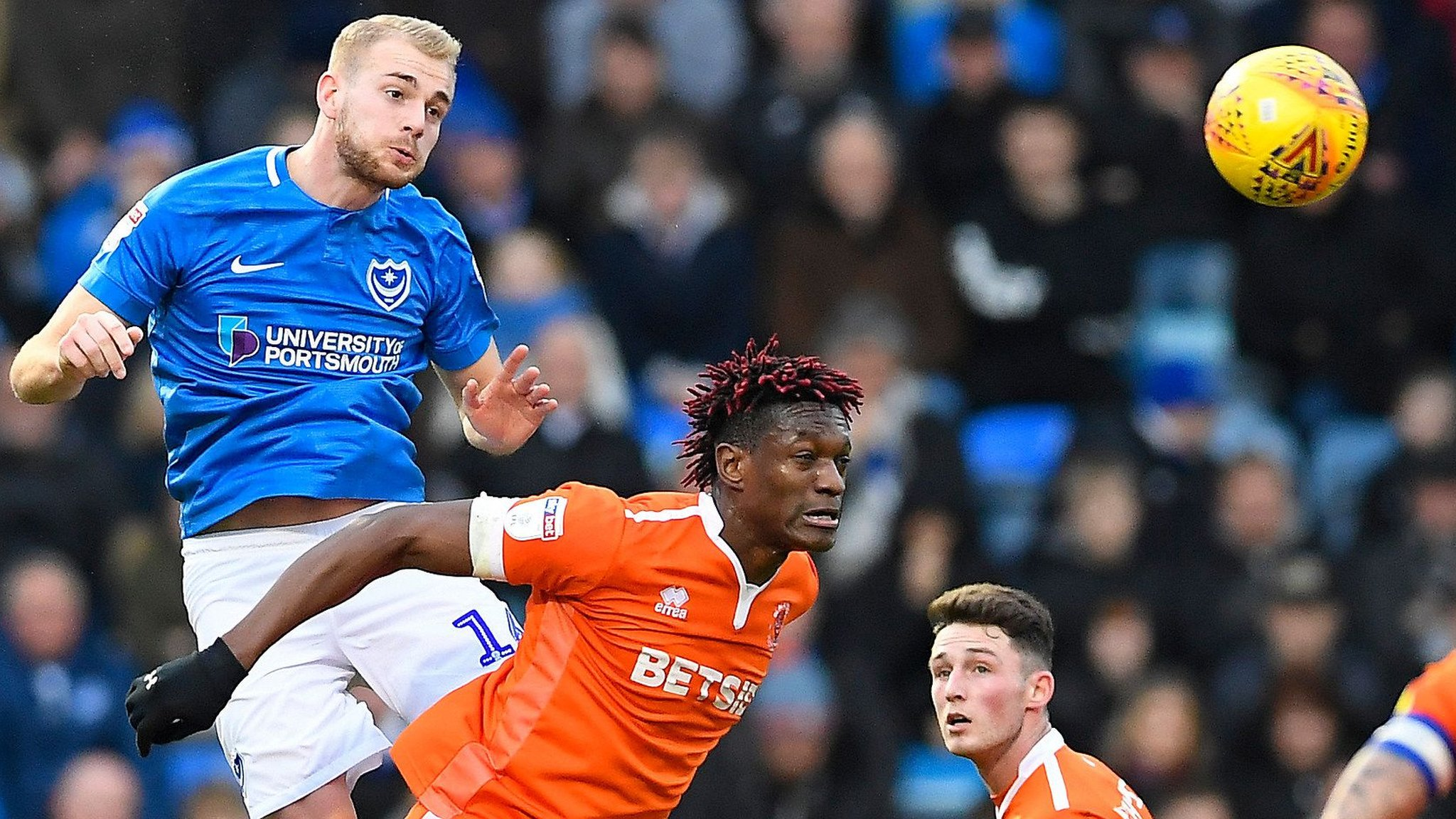 Jack Whatmough: Portsmouth defender signs new contact until 2021