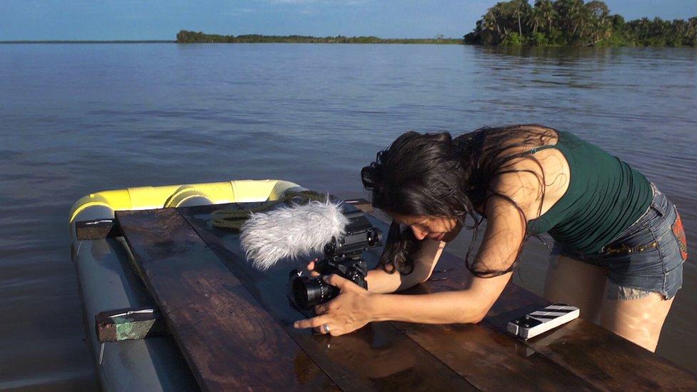 Anabel Rodríguez en Congo Mirador