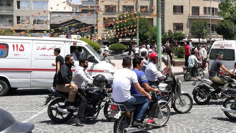 لا يسمح لسيارات الإسعاف في إيران إلا بنقل المرضى فقط