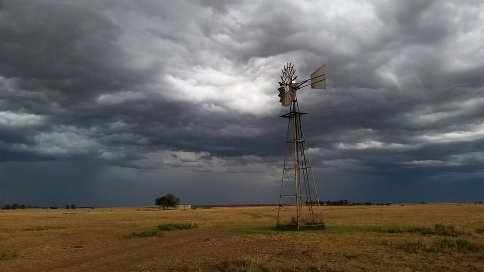A windmill in the Free State Province