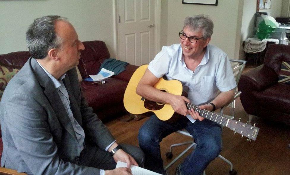 Graham Gouldman talks to Stephen Smith