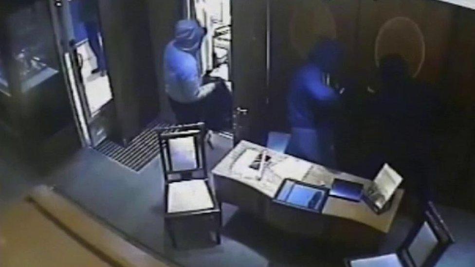 Five more men sentenced over £1m Truro jewellery robbery
