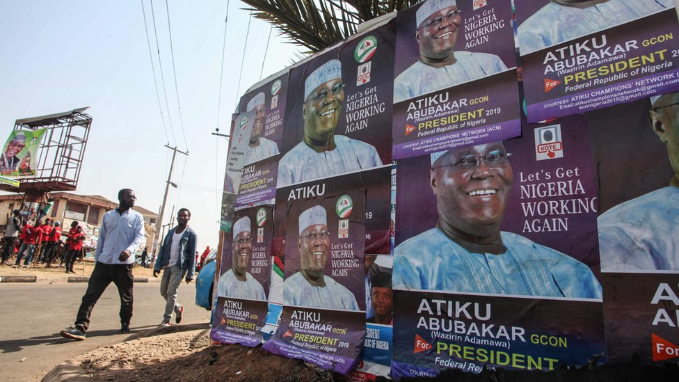 Posters for Atiku Abubakar