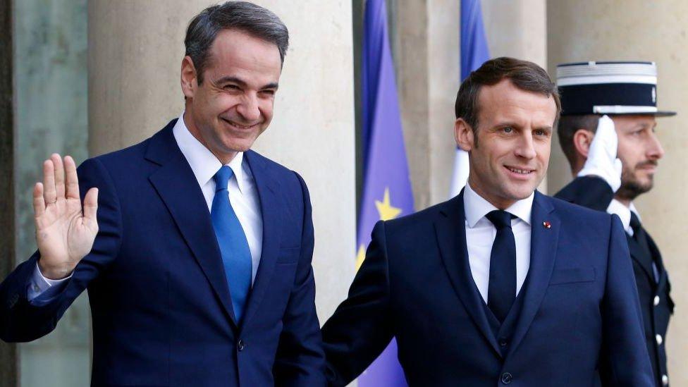 Miçotakis ve Macron Ocak ayının sonunda görüşmüşlerdi.