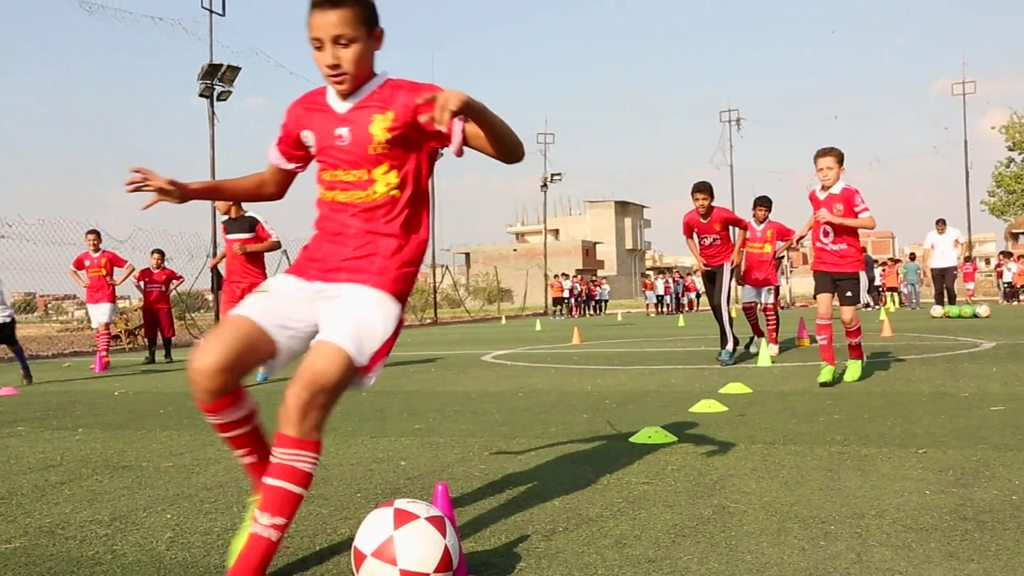 'I want to be like Mo Salah'