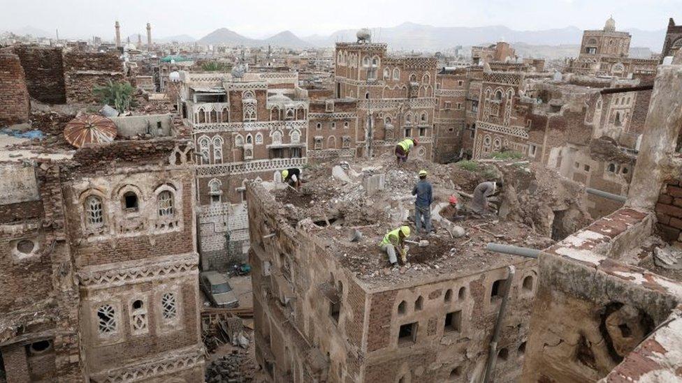 Kota Tua Sanaa, Yaman